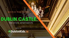 Dublin Castle : the magnificent State Apartments. A must see in Dublin