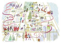 natal em NY- christmas in NY - Gol Magazine