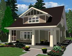 The Gabriola - Prefabricated Home Plans | Winton Homes