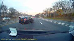 Subaru WRX STI Car Crash (Dash cam footage from behind)