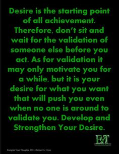 Make Your Desire Personal