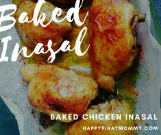 Forgive my long absence as #nanayduties have been back-to-back-to-back. Here's a new recipe for you mommies, pasensya na po wala ng plating plating 😂😂 BAKED CHICKEN INASAL for the mom who does not have the space, time and patience to grill. . I used chicken thighs because it is a lot juicier and yummier when...Continue reading » Easy Filipino Recipes, Easy Chinese Recipes, Filipino Food, Filipino Dishes, Healthy Dinner Recipes, New Recipes, Cooking Recipes, Chicken Inasal Recipe, Recipe Chicken