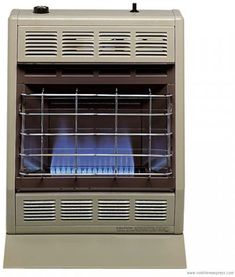 Empire Vent-Free Blue Flame Heater Natural Gas 20000 BTU, Thermostatic Control Best Space Heater, Empire, Portable Heater, Pipe Sizes, Blue Flames, Heating Systems, Cool Things To Buy, Free, Natural