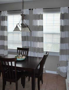 curtains .. these match my duvet cover from west elm in my room ! Love grey and white stripes