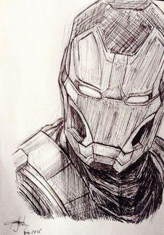Awesome Iron Man sketch