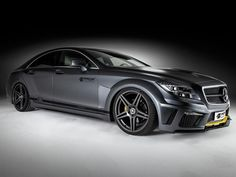 The new Prior Design PD550 Black Edition kit for the Mercedes-Benz CLS was designed to complement the factory lines and curvy shape while adding a bit more power to the car's overall character. Description from motoringexposure.com. I searched for this on bing.com/images