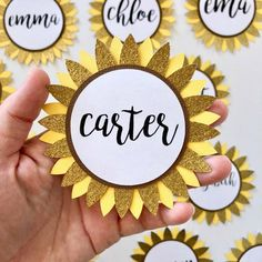 Sorority Recruitment Name Tags, Sunflowers Sorority Recruitment Name Tags, Sunflowers Recruitment name tag inspo<br> Recruitment Name Tags, Sorority Recruitment Decorations, Sorority Bid Day, Sorority Name Tags, Sorority Canvas, Sorority Paddles, Sorority Crafts, Sorority Door Decorations, Panhellenic Recruitment