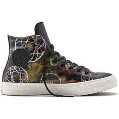 Converse Chuck Taylor All Star II Futura – camo Sneakers ($110) ❤ liked on Polyvore featuring shoes, sneakers, camo, converse footwear, camouflage footwear, converse shoes, camo shoes and camouflage shoes
