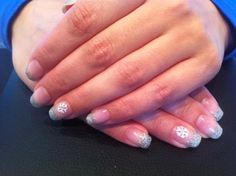 Winter nails / nagels, glitters en sneeuwvlok