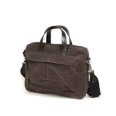 Property of... TOMMY LAPTOP BAG - 004562 - CHOCOLATE  $239.99