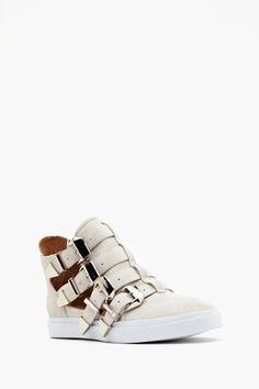 Indie Buckled Sneaker
