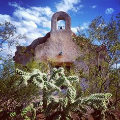 The San Pedro Chapel was made the first City of Tucson Landmark in 1982. In 1993 the chapel's significance was recognized by it being placed on both the State and National Registers of Historic Places. (Click on the pin when you are ready for more info about Tucson AZ missions and churches - Photo via Instagram by @sabinocg)