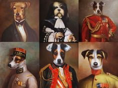 It may have stunning views of the Eiffel Tower and five-star elegance, but the real draw at the Hotel Napoleon in Paris also it its delightful portraits of royal dogs.