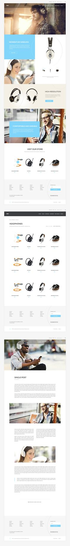BOX - Brand-building eCommerce WordPress Theme