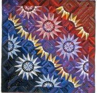 """Star Fire 84"""" x 84"""" - 1993 Judy Mathieson"""