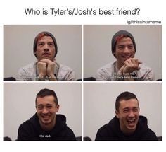 just listening to Where Did We Go over and over to pass the time because THAT SONG IS A BLESSING Tyler's commentary, the instruments, THE VOCALS OH GOSH, man it's so DANCE-Y and it makes me so happy AND ALSO IT'S SO HEAVILY INFLUENCED WITH CHRISTIANITY AND MAN IT IS JUST THE SONG THAT REPRESENTS NO PHUN INTENDED SO WELL