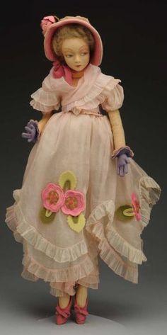 Elegant Lenci Lady Doll.❤❤❤