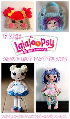 20+ Free Lalaloopsy Crochet Patterns including doll patterns, clothes for lalaloopsy, and hats & accessories for children. Minion Crochet Patterns, Minion Pattern, Pokemon Crochet Pattern, Doll Patterns Free, Crochet Doll Pattern, Mario Crochet, Crochet Yarn, Harry Potter Crochet, Frozen Crochet