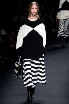 Valentino AW 15/16 Redesigning op art! love it
