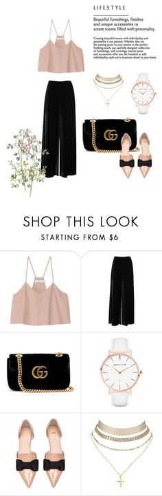"""""""Elegance"""" by nikus10030 on Polyvore featuring TIBI, M Missoni, Gucci, Abbott Lyon and Charlotte Russe"""