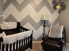 Project Nursery - Gray Chevron Nursery
