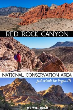Find Red Rock Canyon National Conservation Area just 30 minutes from the Las Vegas Strip! Hike many trails, see epic views, and more along The Scenic Drive. Las Vegas Hiking, Las Vegas Vacation, Las Vegas Strip, Us Travel Destinations, New Orleans, Valley Of Fire, Death Valley, Arizona Travel, Arizona Trip