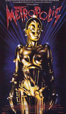 Metropolis poster (Moroder version)