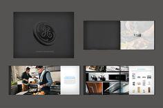 """Brand Brochure"" for GE Appliances by Power Creative. Kris Johnson, Art Director; Chris Colby, ACD, DesignAndy Stillwagon, ACD, Writer; Laura Robinson, Creative Director."