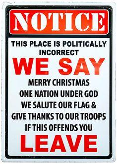 NOTICE Sign Warning Politically Incorrect Flag Plaque Bar Club Wall Decor Art US