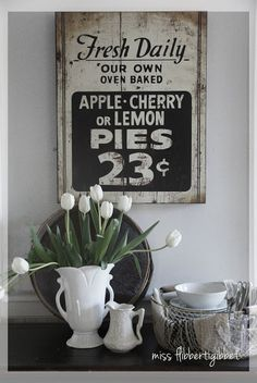 Rustic Wood Sign -  Miss Flibbertigibbet