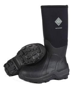 Brand New Muck Boot ASP-000A Men's Black Arctic Sport Hi Snow Boots