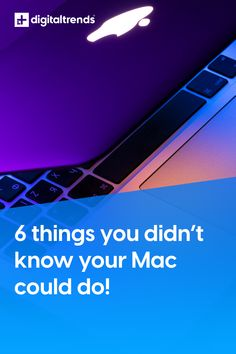 Whether you're buying a new iMac or are using a decade-old MacBook, there's a lot you can accomplish with your system that you may not realize you can. Apple has built a huge number of clever features into its computers that can make things a little bit easier and more convenient, but many remain buried deep within menus and preference panes. Here are six things you can do with your Mac that you might not know about. Cloud Icon, Sports Scores, Any App, Keyboard Shortcuts, Digital Trends, Done With You, A Decade, Looking Up, You Can Do