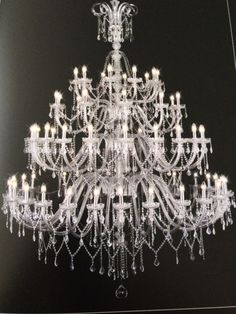 Murano Glass Crystal Chandelier for Chelsea Chandeliers by Wendy Cushing Designs.