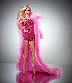 This one of a kind, stunning pink diamond Barbie Doll has been created by the duo David and Phillipe Blond along with Bill Greening, Principal Designer at Mattel.