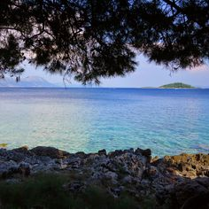 The island of Badija in Croatia is a perfect day trip from Korcula. The coastline of the small island is quiet and it's easy to find a spot by yourself in the clear, calm water.