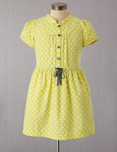 I've spotted this @BodenClothing Pretty Shirt Dress Citrus Spot