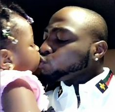 Adorable! Davido Kisses His Daughter On The Lips Goofs Around With Baby Mama Sophie