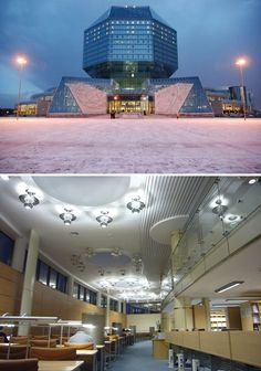 National Library, Belarus  The 25 Most Beautiful Public Libraries in the World – Flavorwire