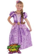 Girls Tangled Rapunzel Costume-Party City $19.99