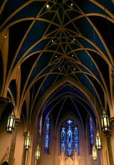 inside of the church (Peoria)