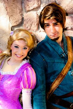 Rapunzel and Flynn Rider by abelle2, via Flickr