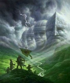 Valhalla, in Norse Mythology, is where all men who died with honor in battle go to until...