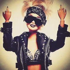 #badass #barbie #fuckyou #middlefinger