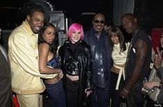 Aaliyah With Busta Rhymes, Pink, Stevie Wonder, Mya, and Tyrese at the MTV Icon Tribute to Janet Jackson on March 2001 Image Credit: Jeff Kravitz/FilmMagic Rip Aaliyah, Aaliyah Style, I Love Music, Her Music, Music Life, Afro, Hip Hop, Busta Rhymes, Wellness