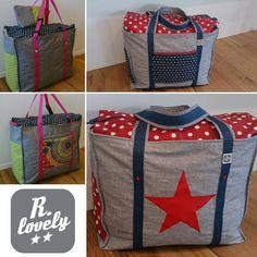 #schwimmtasche #weekender #handmadebag #beschichtetebaumwolle #www.facebook.com/r.lovely.handmade