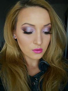 Special Koko - Make-up, beauty & fashion!: Spring Make-up: Metallic Lilac Eyes