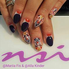 Beautiful Boho Nails