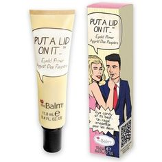 The Balm Oczy Put a lid on it PRODUCT