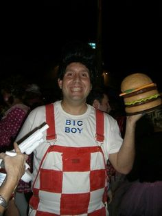 Halloween costume- Shoney's Big Boy