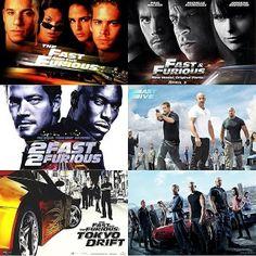 Paul Walker Tribute Fast & Furious movies